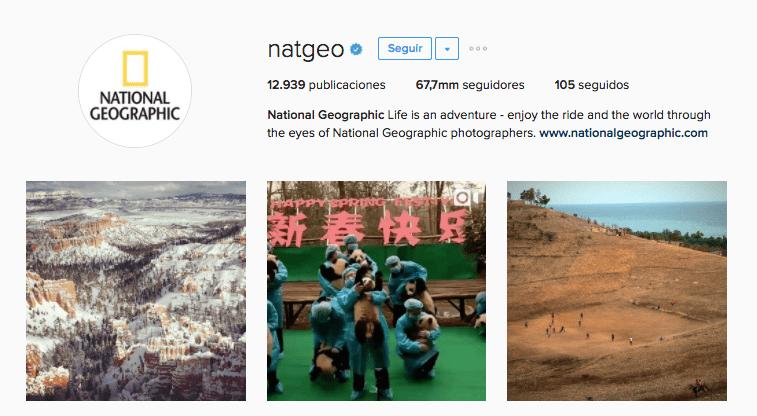 natgeo instagram