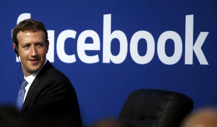 Mark Zuckerberg en presentación Facebook