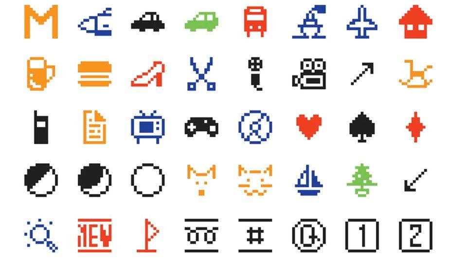 ejemplo primeros emoji